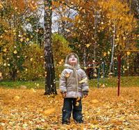 Консультация для родителей «Осенние забавы»