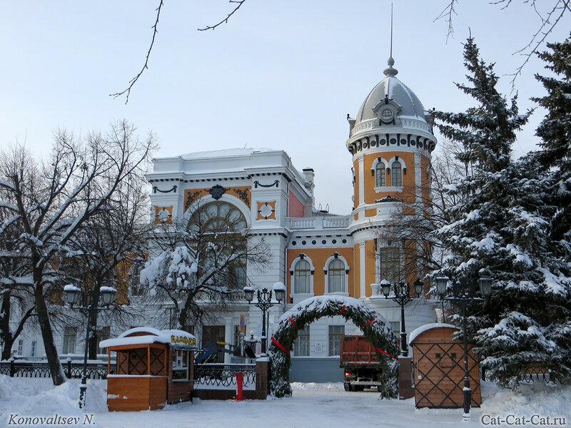 Краеведческий музей, Ульяновск, зима 2018