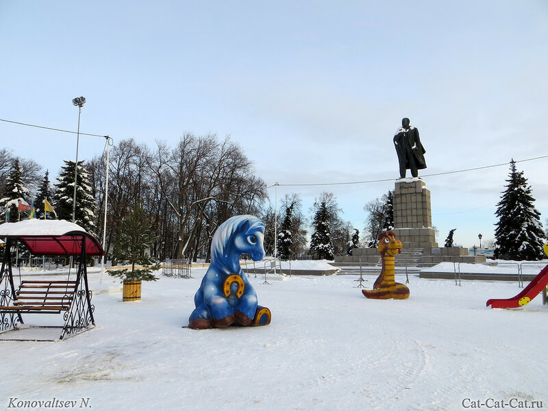 Ленин и звери