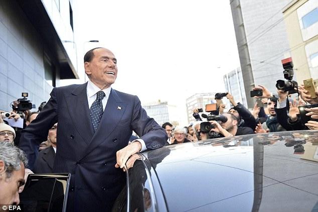 Ранее в сентябре нестареющий духом (и не только духом) итальянский политик заявил, что хочет возглав