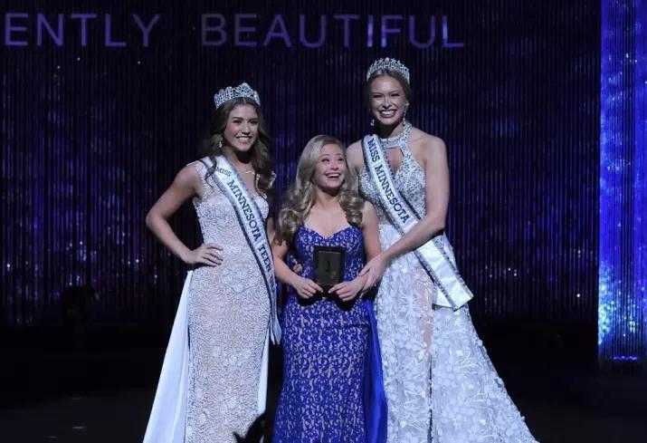 Девушка с синдромом Дауна впервые в истории США участвовала в конкурсе красоты (4 фото)