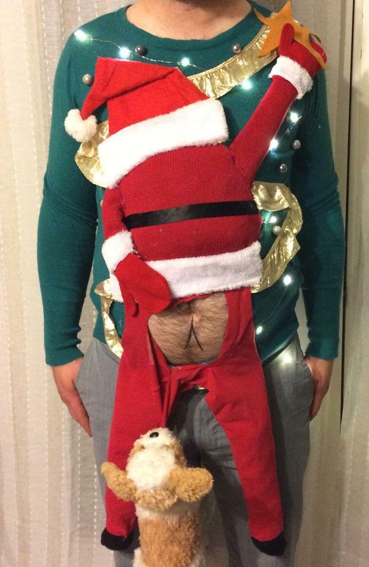 Развратный Санта и еще 29 уродливых рождественских свитеров