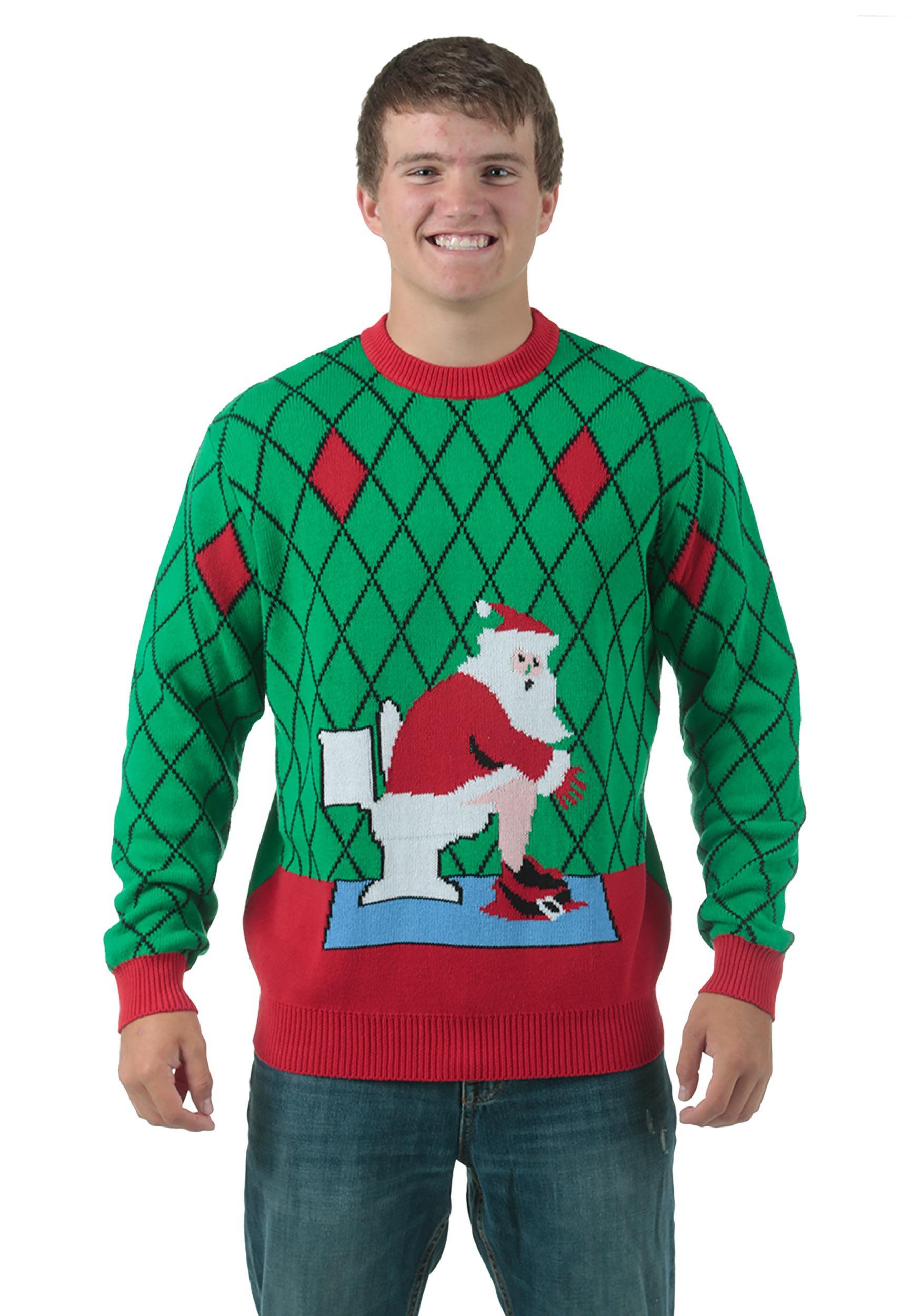 Отдельная категория нелепых свитеров — те, то изображают спаривающихся оленей.