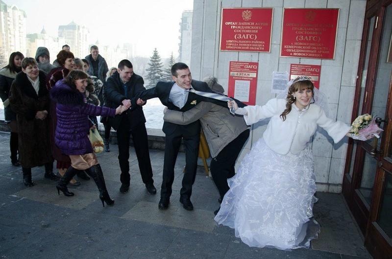 Свадебные кадры, над которыми можно от души посмеяться