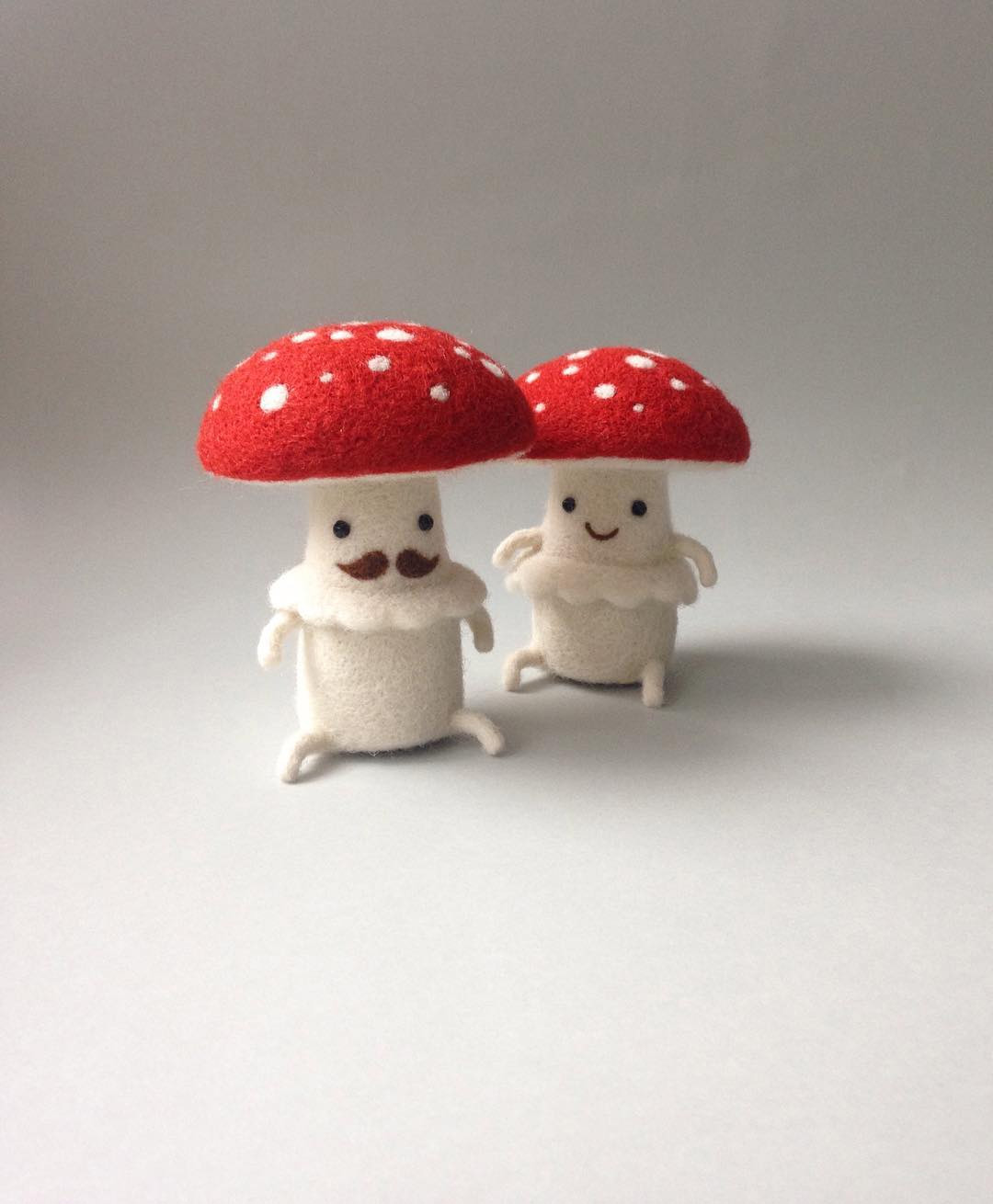 New Needle Felted Food and Animal Friends by Hanna Dovhan