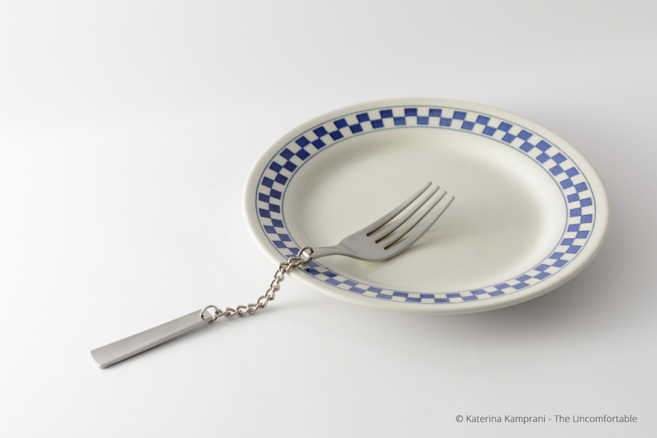 The Uncomfortable: A Series of Inconvenient Household Items Designed by Katerina Kamprani