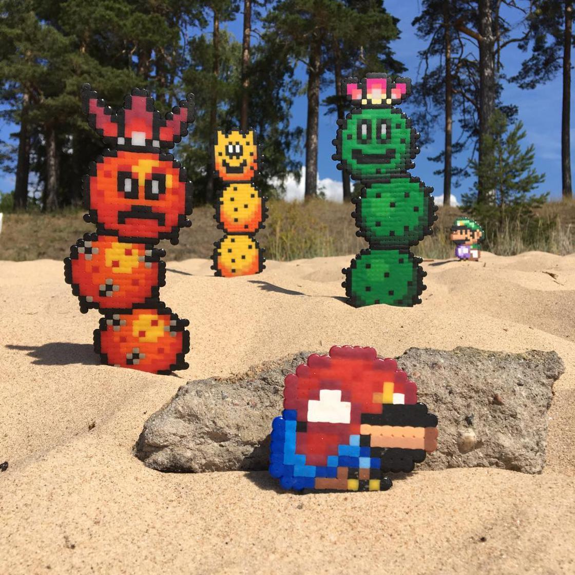 Between Street Art and Pixel Art, the amazing creations of Pappas Parlor
