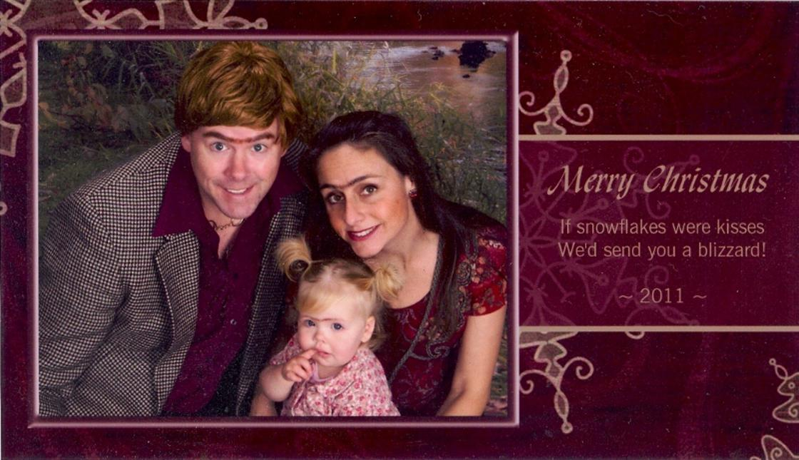 For 15 years, this family has sent the worst possible Christmas cards