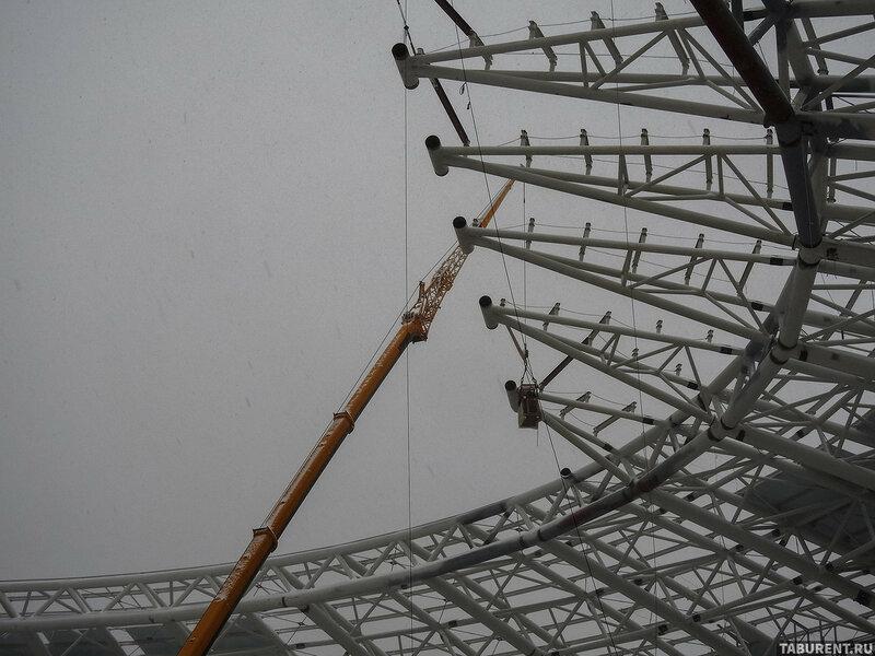 Самара-Арена. Декабрь 2017