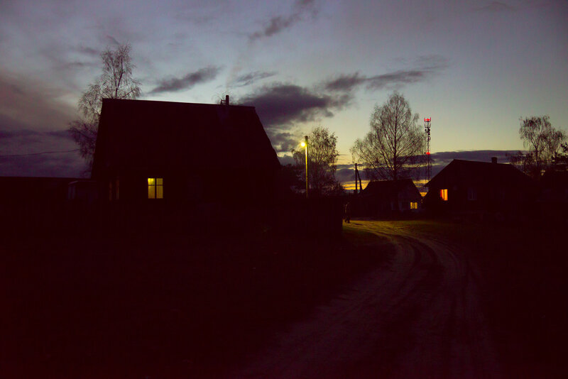 осенний вечер