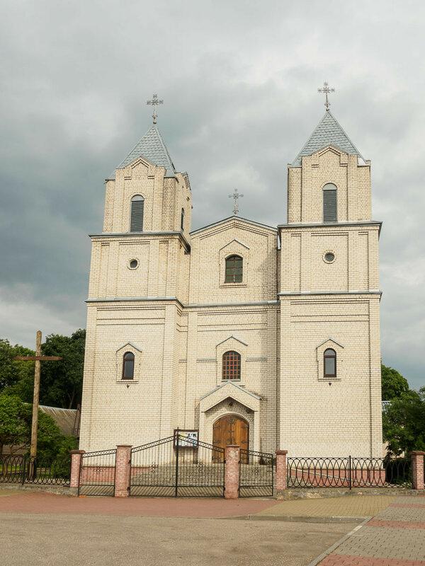 Озёры. Церковь
