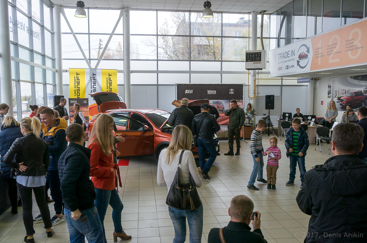 Презентация Lada Vesta SW Агат Саратов фото 5