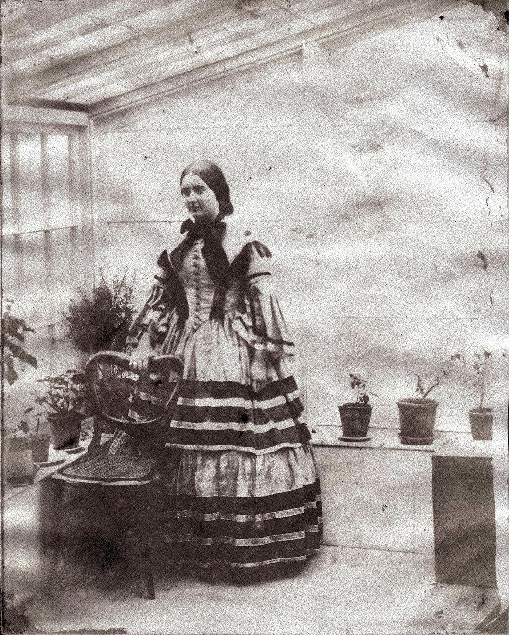 1845. Портрет леди