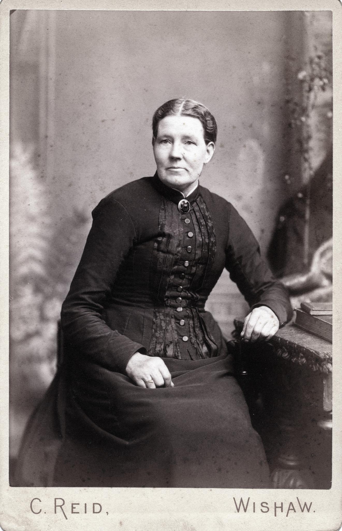 1880. Женщина средних лет