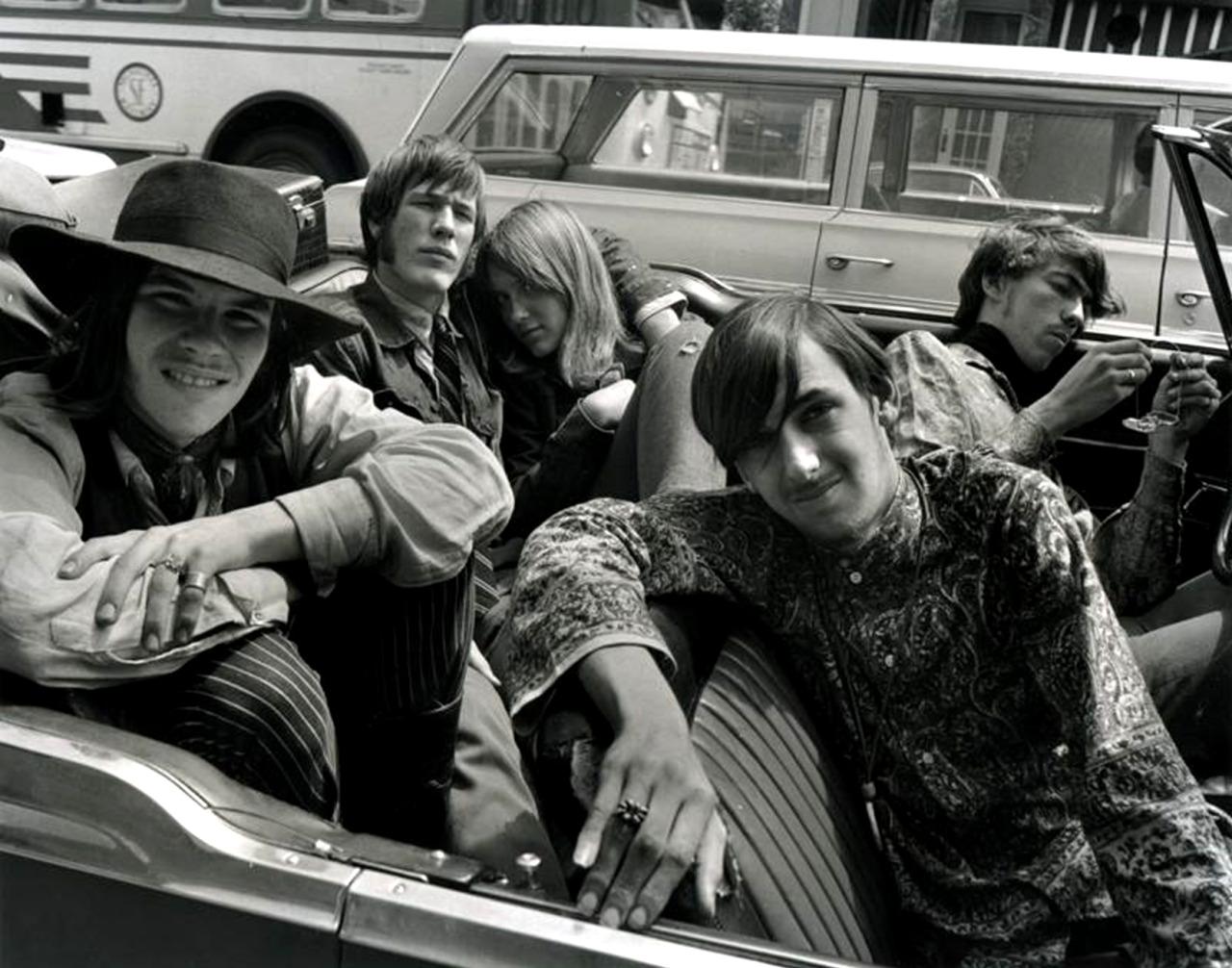 1968. Круиз по Хейт-стрит, Сан-Франциско