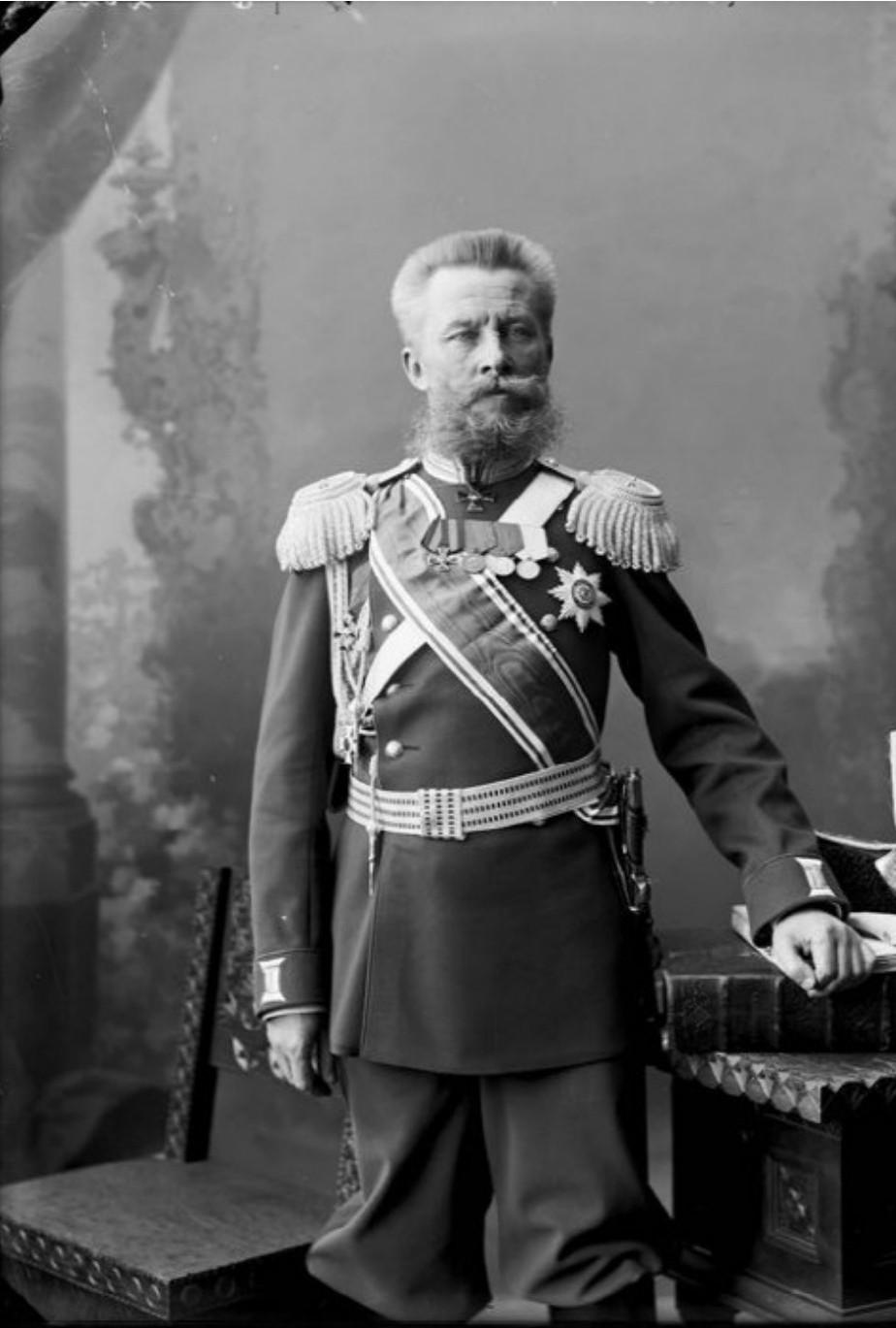 В.Я. Шеманин – генерал- майор, начальник Нижегородского жандармского управления