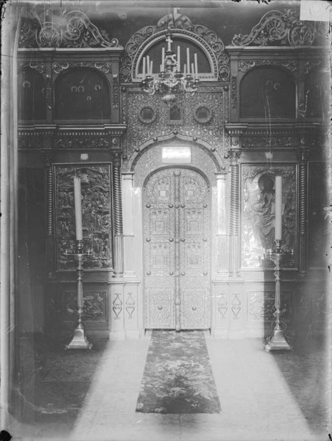 Спасо-Преображенский Кафедральный собор. Иконостас левого придела