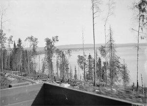 1919. Медвежья Гора  с железной дороги