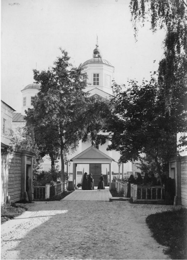 Крестовоздвиженский женский монастырь. Общий вид