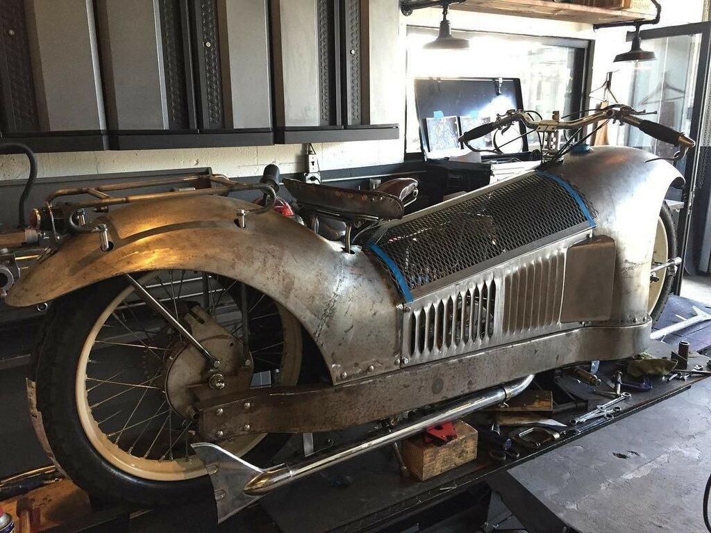 1930 Majestic 500cc & Bernadet Side Car 2.jpg