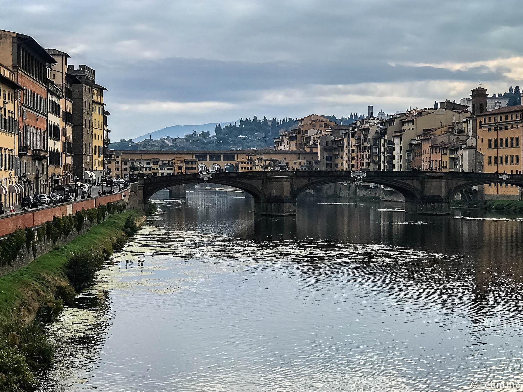 Река Арно. Флоренция