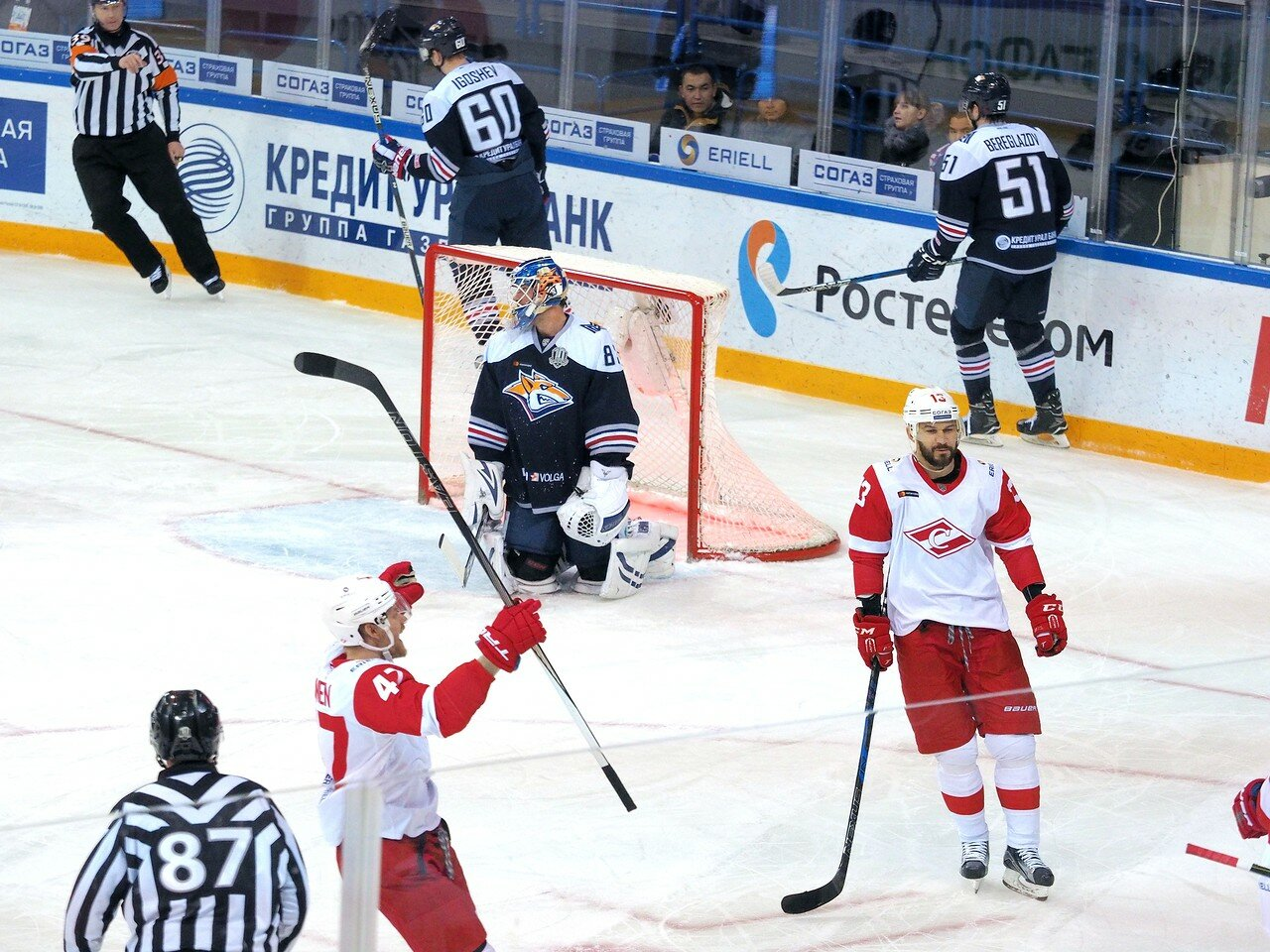 96 Металлург - Спартак 30.11.2017