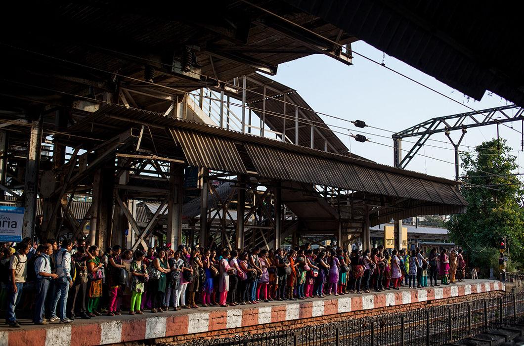 Мумбайские женские вагоны