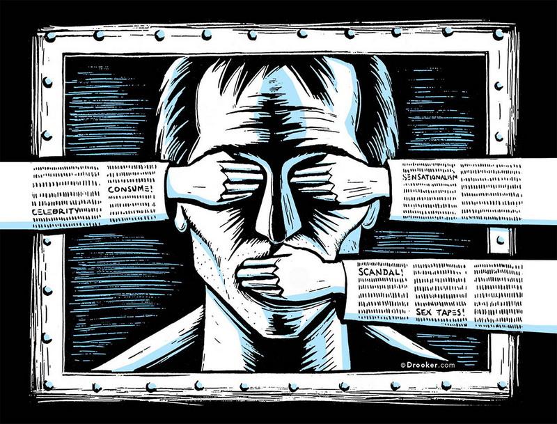 15 стран с самыми суровыми ограничениями свободы слова