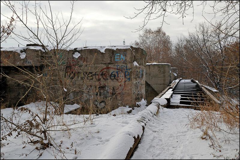 Плотина ЧМЗ