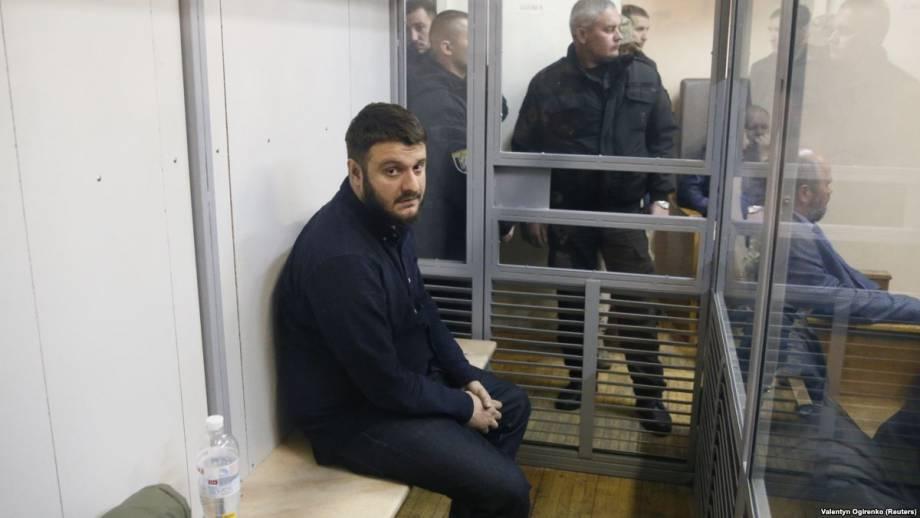 Суд оставил без изменений меру пресечения сыну Авакова