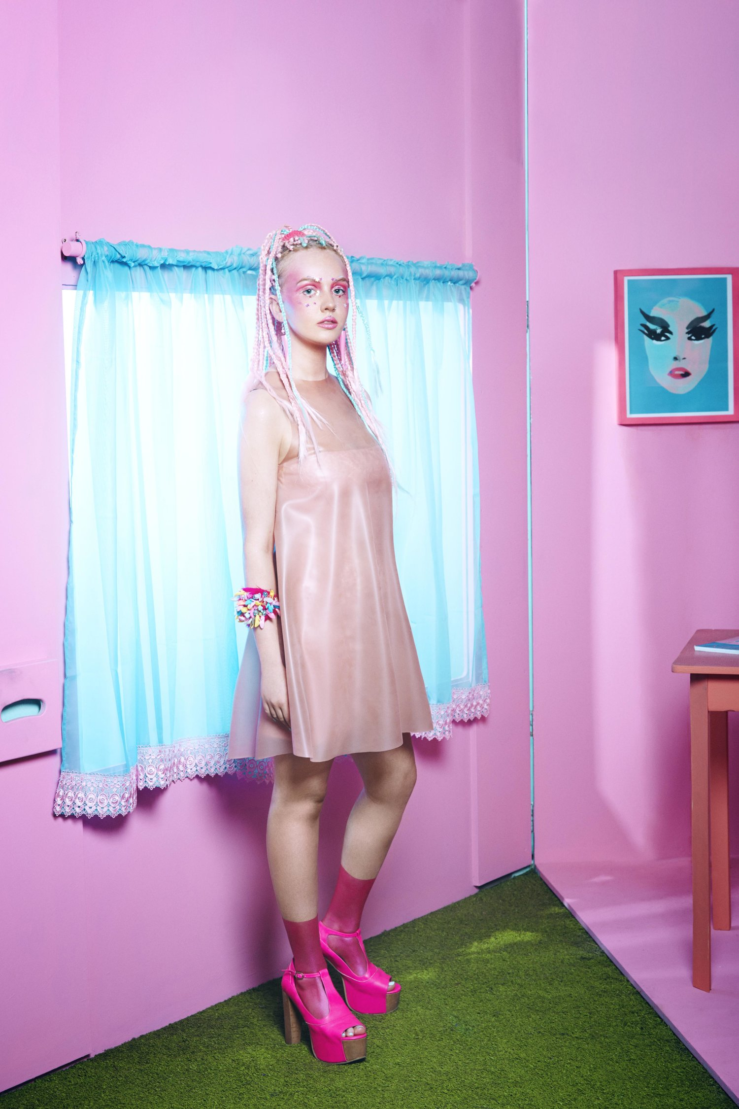Fabricado для RektMag / фотограф Yannick Lalardy Модель Kirsty Sorley