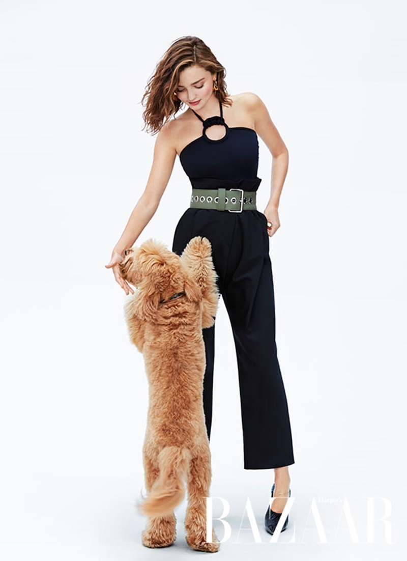 Миранда Керр в Harper's Bazaar Australia