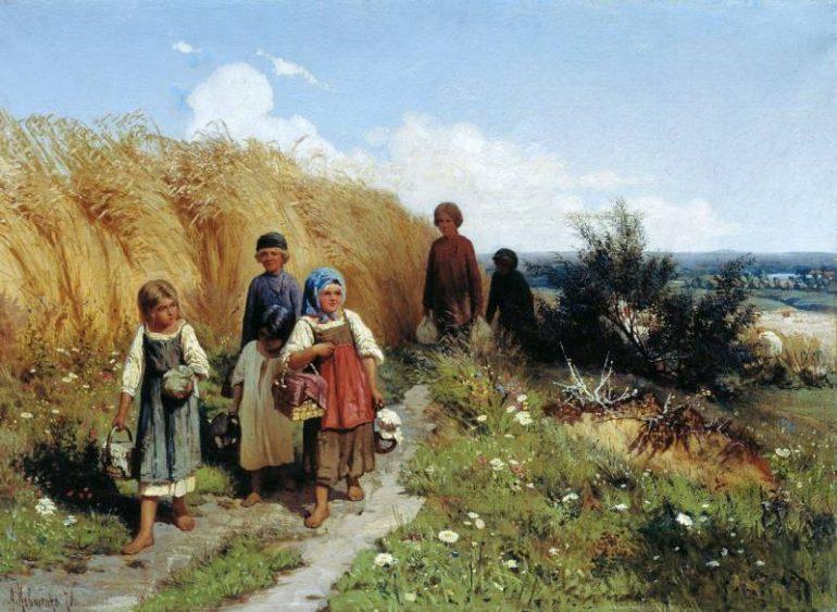 Что умели дети 100 лет назад (1 фото)