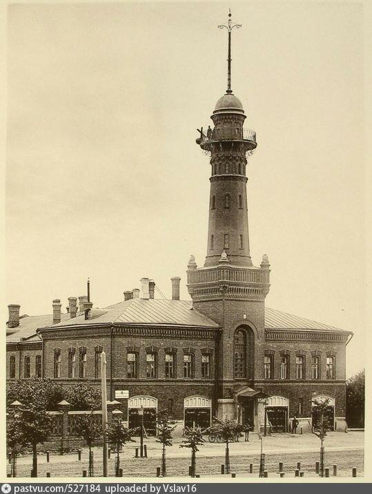 Сокольнический полицейский дом. 1890...jpg