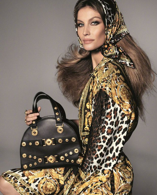 First Look: Supermodels for Versace Spring Summer 2018 (5 pics)