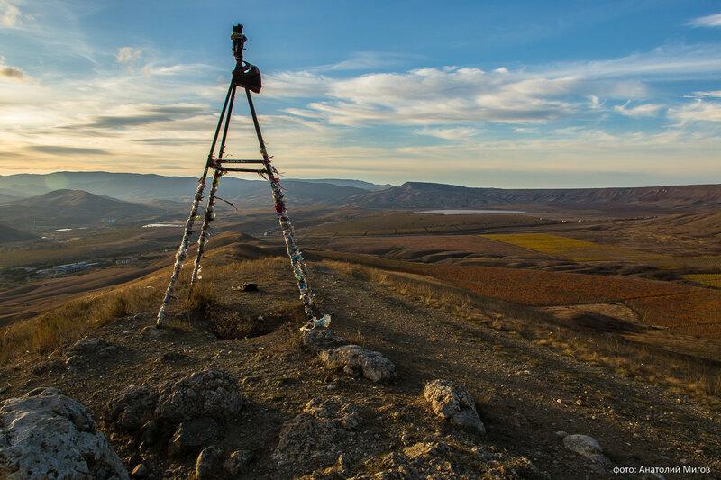 Триангулятор на горе Волошина