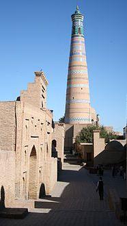 220px-Khiva_Itchan_Kala_Islam_Khodja_minaret.JPG