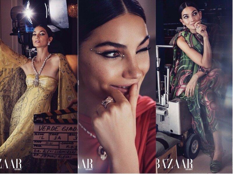 Harper's Bazaar Arabia December 2017