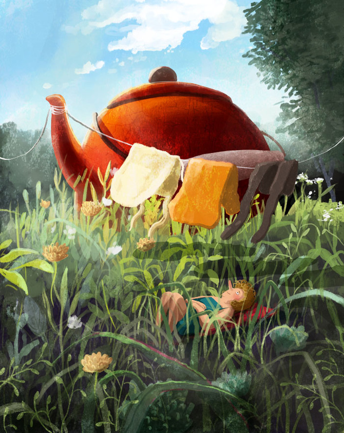 Storybook Styled Illustrations by Emilia Dziubak