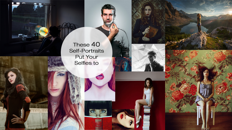 These 40 Self-Portraits Put Your Selfies to Shame (40 pics)