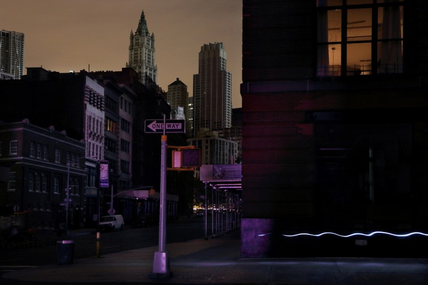 The New York Blackout Series by Christophe Jacrot