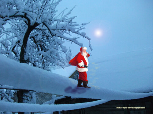 Тяжела работа Дед Мороза