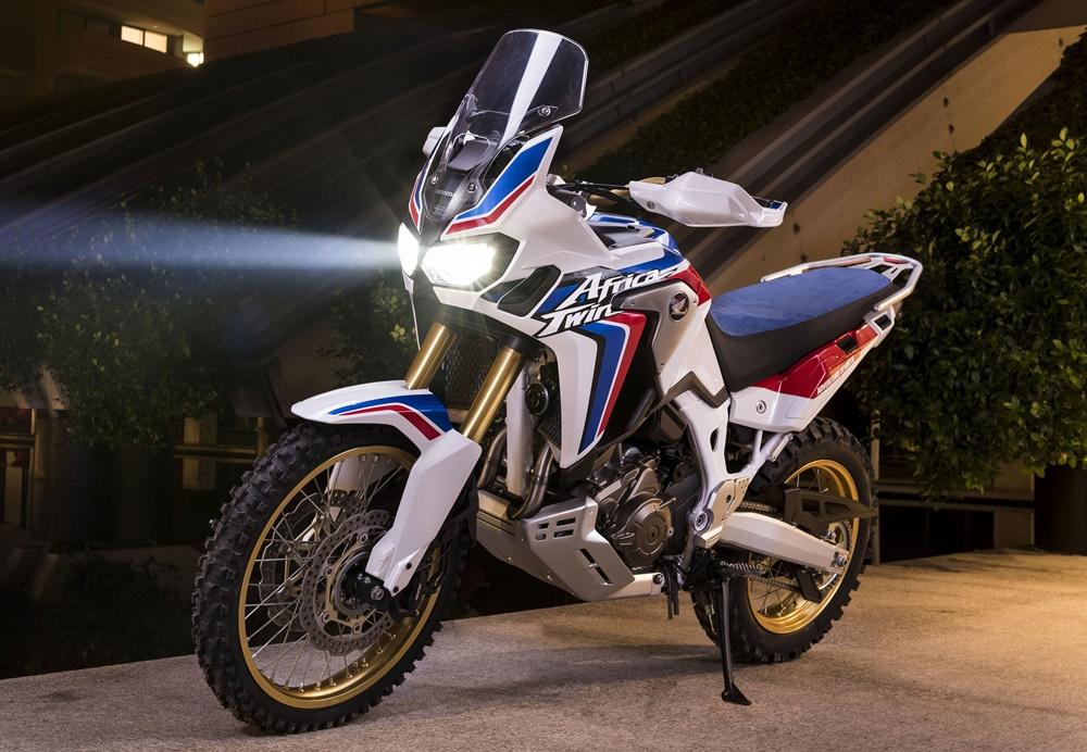 Более внедорожный мотоцикл Honda Africa Twin в разработке