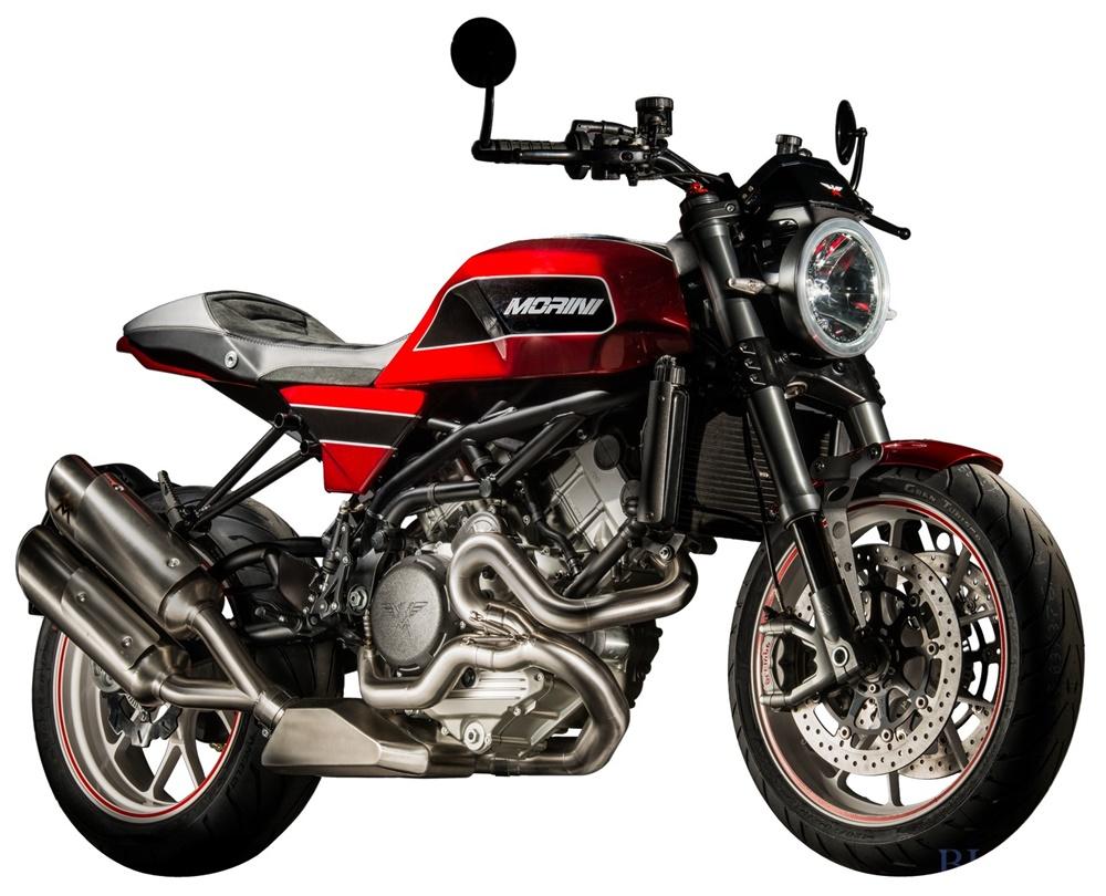 EICMA 2017: Мотоцикл Moto Morini Milano 2018, вдохновленный классическим Moto Morini 3½