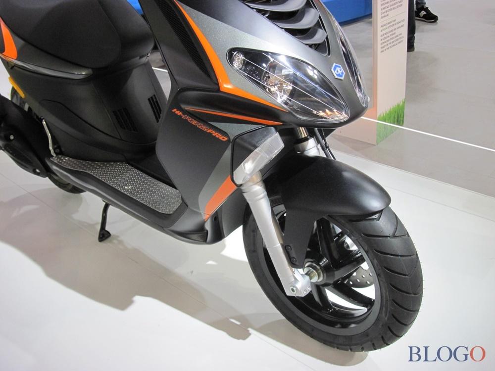 Моделный ряд 50-кубовых скутеров Piaggio 2018 (евро4)