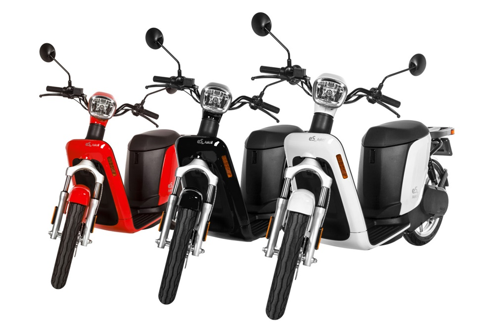 Электрические скутеры Askoll