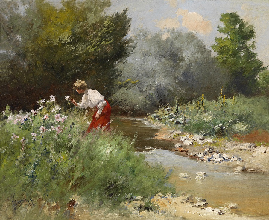 Flowers by the Stream.jpg