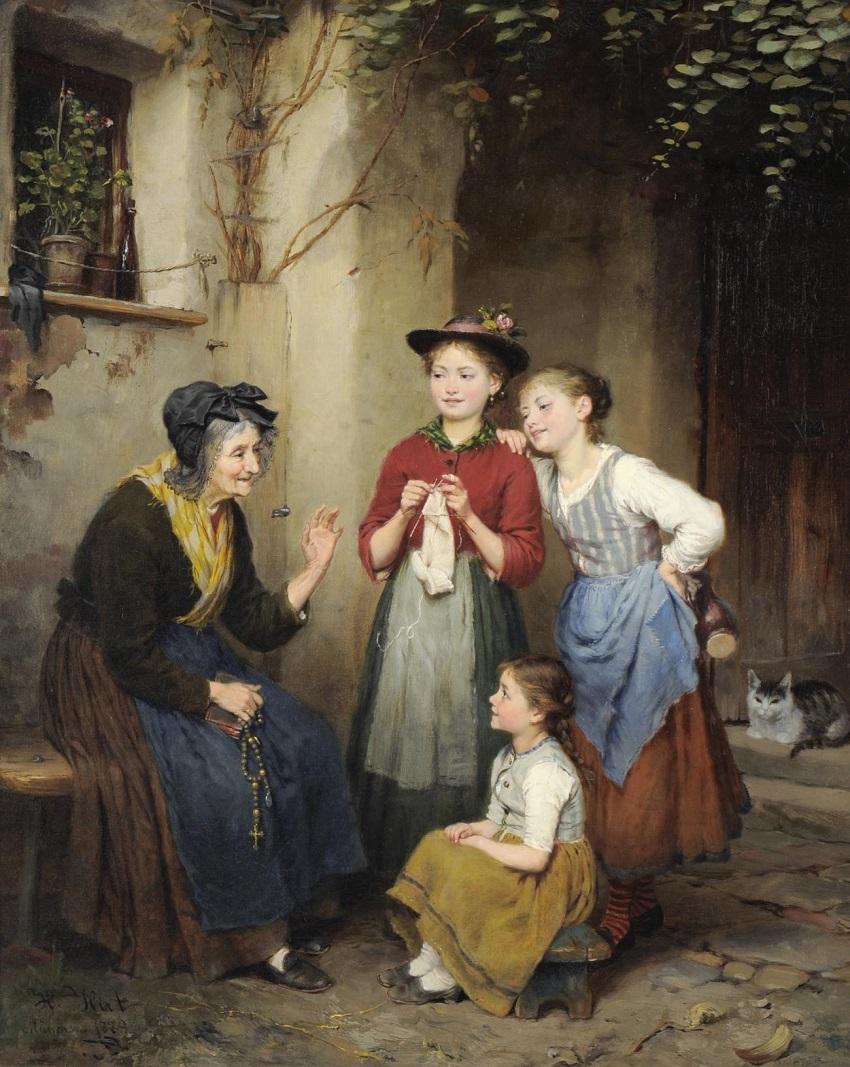 Grandma's Story , 1889