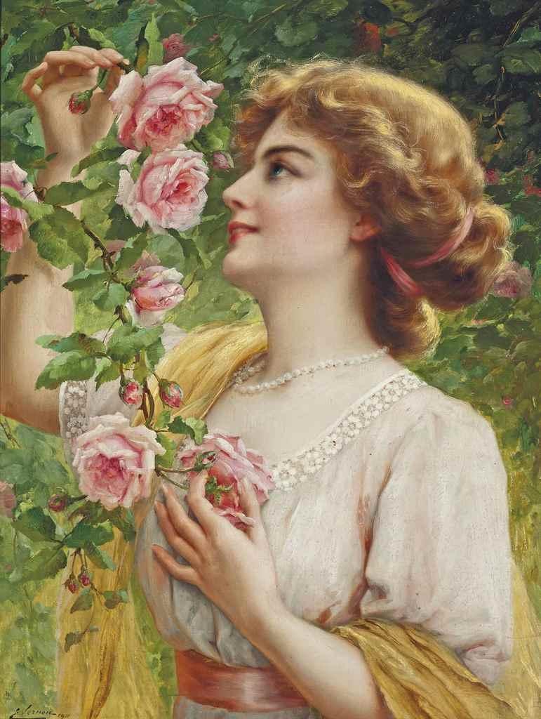 Fragrant roses , 1911