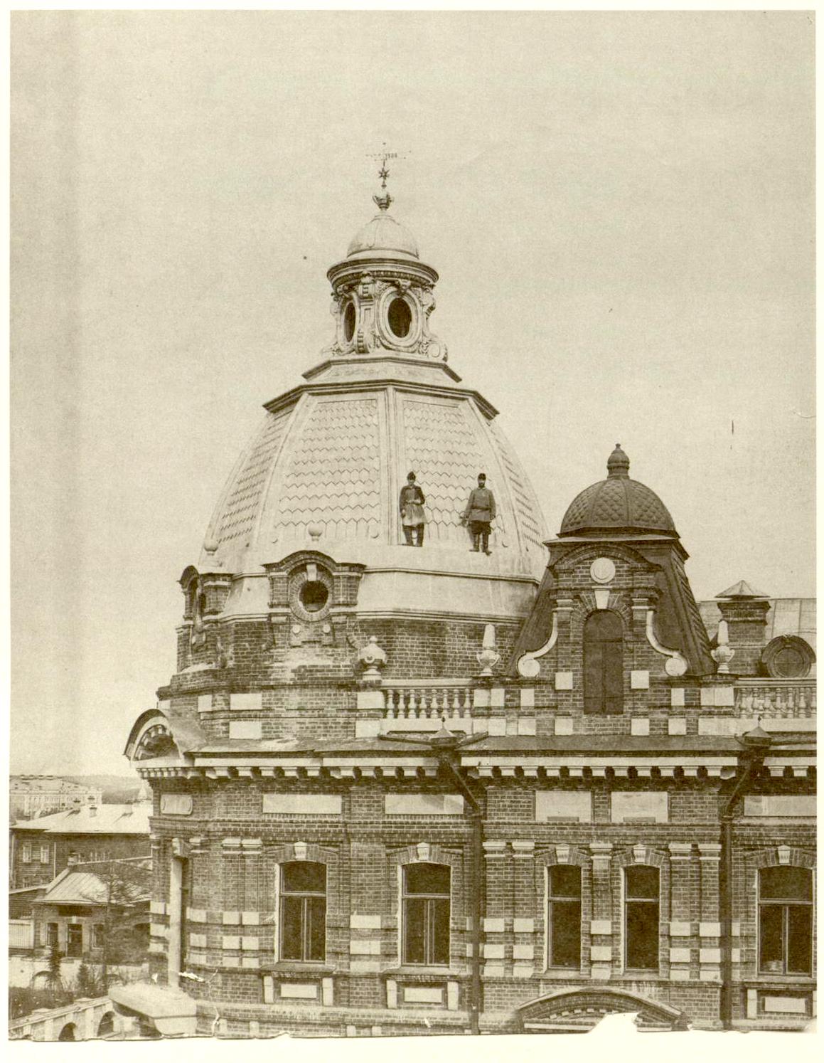 Строительство здания казенной палаты